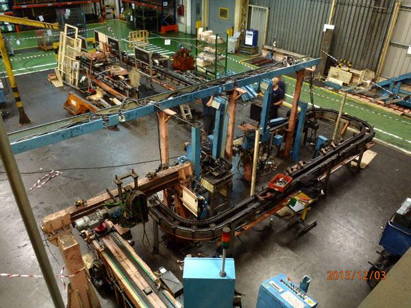 Reforma línea producción